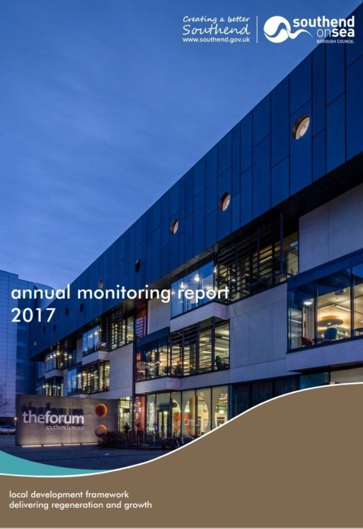 Annual Monitoring Report cover page